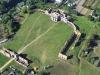 Ружаны. Замок Сапег. Панорама Сверху