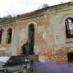 В Ружанах разрушается синагога