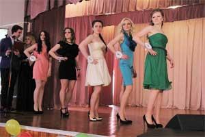 На историческом факультете БрГУ прошёл конкурс красоты «Мисс весна -2015»
