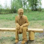 Деревянная скульптура Николая Тарасюка