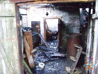 В Берёзовском районе при пожаре погибли двое рабочих
