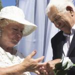 В Бресте 73-летняя невеста вышла замуж