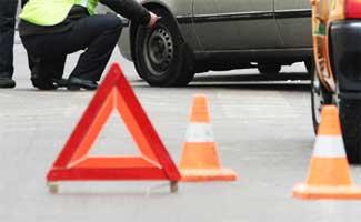 В Пружанском районе опрокинулся Citroen: трёхлетнего пассажира спасло автокресло