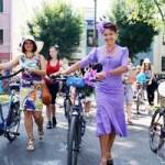 «Велопарад на шпильках» прошёл в Бресте на День города (ФОТО)