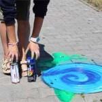 В Бресте художница разукрасила канализационные люки (ФОТО)