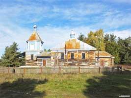 В деревне Малые Руины разобрали уникальную церковь 18 века