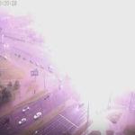 В Бресте молния ударила в светофор (Видео)