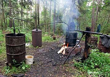 730 литров самогонной браги изъяли у жительницы Барановичей